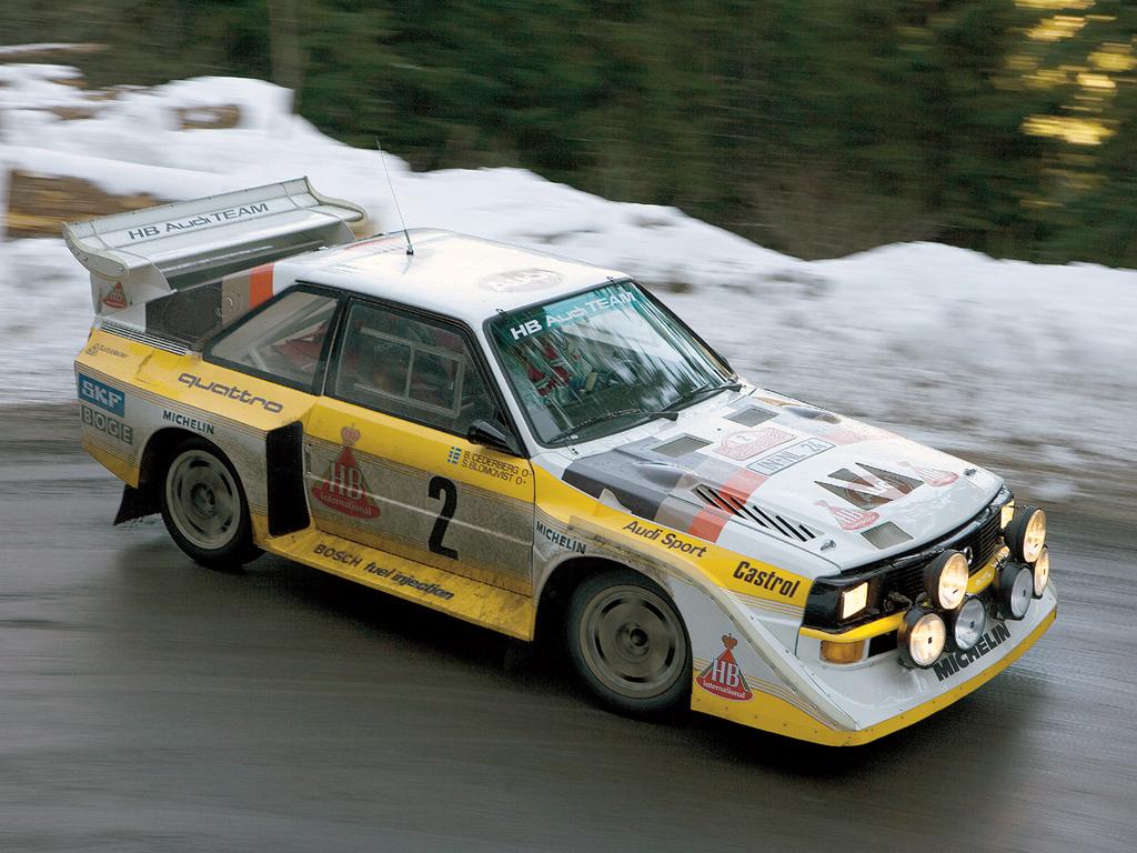 Audi Quattro Group B 68