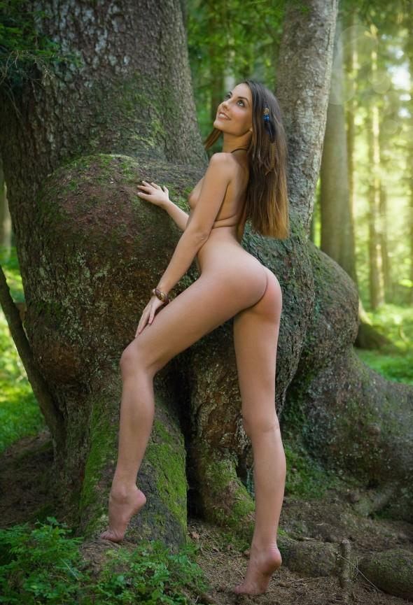 Admiring Nature